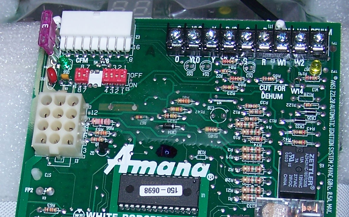 Amana Furnace Control Board Wiring Diagram - Circuit Connection ...
