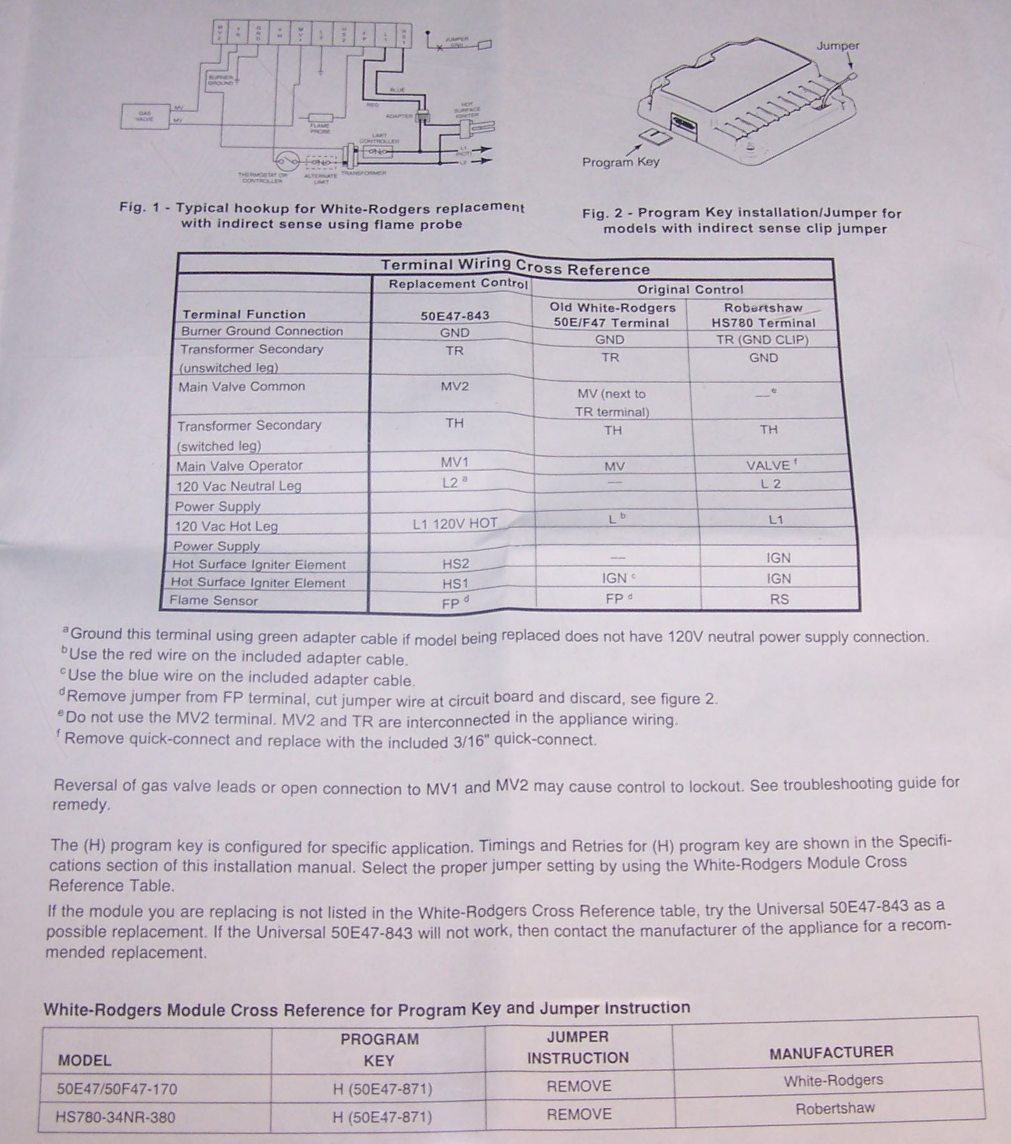 101_8842 c64111 03 amana white rodgers 50e47 871s2 hot surface ignition White Rodgers Model 843 50E47 Schematic at n-0.co