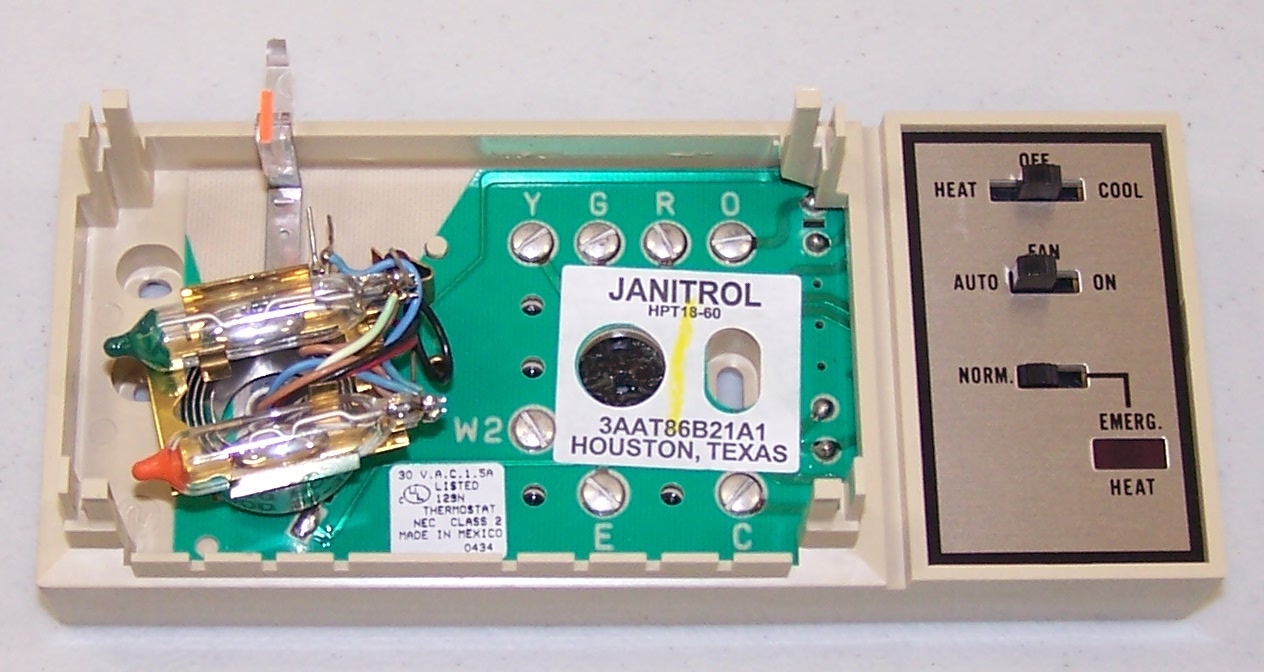 janitrol thermostat hpt 18 60 wiring diagram 44 wiring 7-Wire Thermostat Wiring Diagram 2 Stage Heat Pump Thermostat Wiring