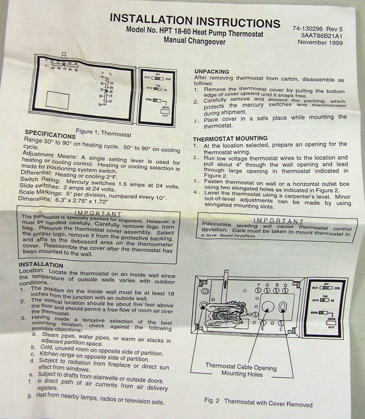 janitrol 18 60 thermostat wiring diagram wire diagram ford f100  hpt18 60 goodman heat pump thermostat with emergency heat 101 7863 hpt18 60html janitrol 18 60 thermostat wiring diagram janitrol 18 60 thermostat wiring